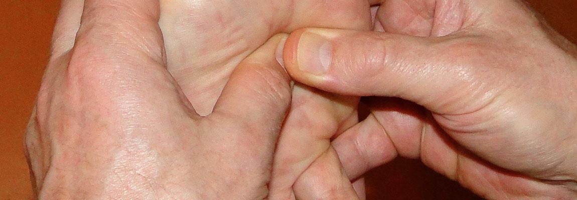 Voetreflex massagetherapie